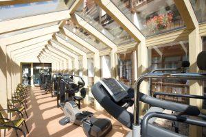 Fitnessraum in der Privatklinik Sankt Lukas